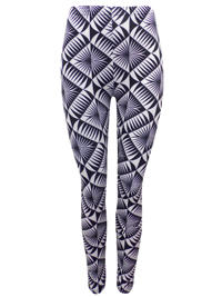 Poetic Soul MONO Printed Full Length Leggings - Size Small to Medium