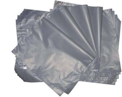 100 Grey Mailing Bags  Postal Bags  250 x 350 + 40mm (discount for 500 or 1000)